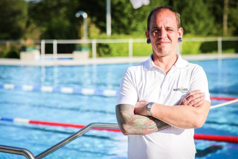 Christian Bosin, Rettungsschwimmer